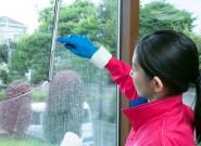 ガラスクリーニング